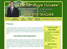 Teacher Buys Houses